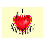 ¡Amo Barcelona! Postales