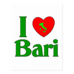 Amo Bari Italia Tarjeta Postal