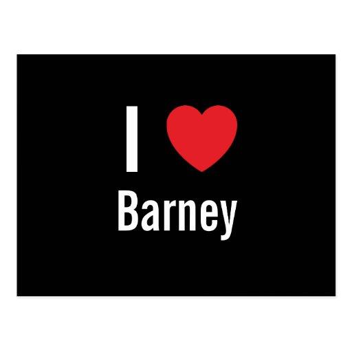 Amo Barney Postal