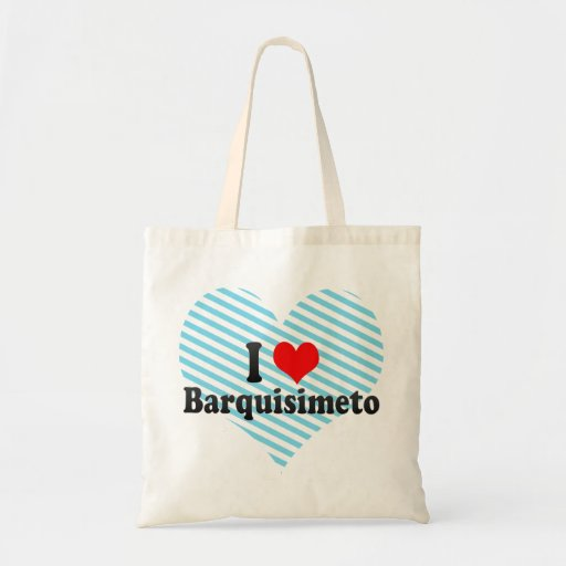 Amo Barquisimeto, Venezuela Bolsa Tela Barata