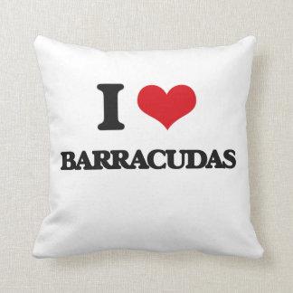 Amo Barracudas Cojín