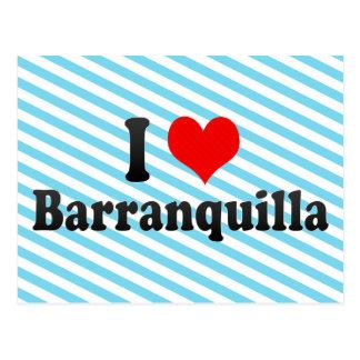 Amo Barranquilla, Colombia Tarjetas Postales