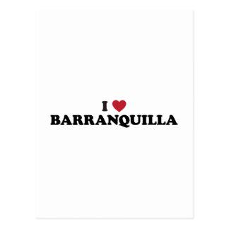 Amo Barranquilla Colombia Postales