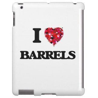 Amo barriles funda para iPad
