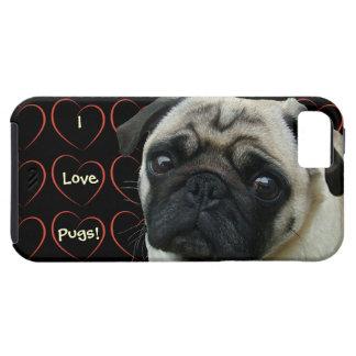 Amo barros amasados con los corazones iPhone 5 coberturas