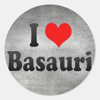Amo Basauri, España Etiquetas Redondas
