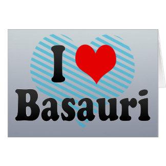 Amo Basauri, España Tarjeta