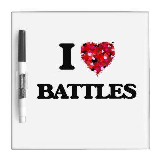 Amo batallas pizarra blanca
