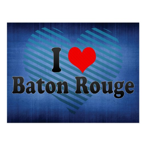 Amo Baton Rouge, Estados Unidos Tarjetas Postales