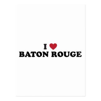 Amo Baton Rouge Luisiana Tarjeta Postal