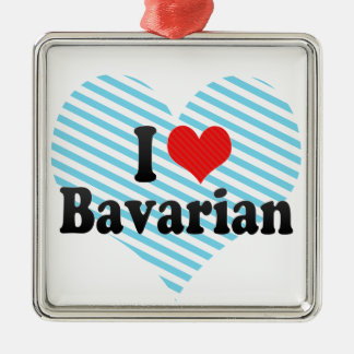 Amo Bavarian Ornamentos De Navidad