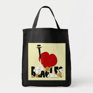 Amo beagles bolsas