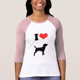 Amo beagles playera