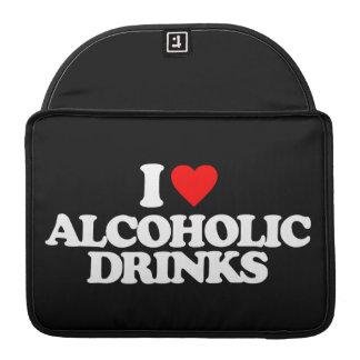 AMO BEBIDAS ALCOHÓLICAS FUNDA PARA MACBOOKS