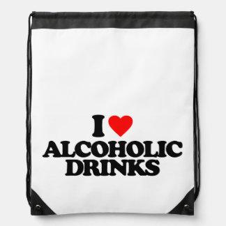 AMO BEBIDAS ALCOHÓLICAS MOCHILA