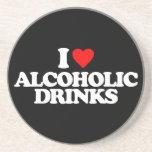 AMO BEBIDAS ALCOHÓLICAS POSAVASO PARA BEBIDA