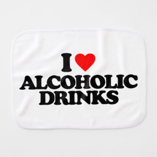 AMO BEBIDAS ALCOHÓLICAS PAÑOS DE BEBÉ