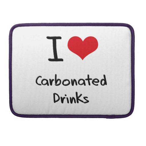 Amo bebidas carbónicas funda para macbook pro