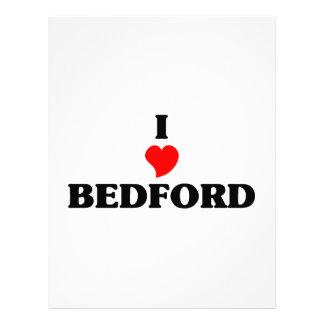 Amo Bedford Membrete A Diseño