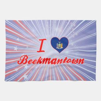 Amo Beekmantown, Nueva York Toalla De Mano