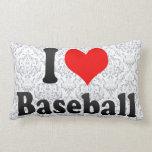 Amo béisbol almohadas