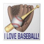 Amo béisbol azulejos ceramicos
