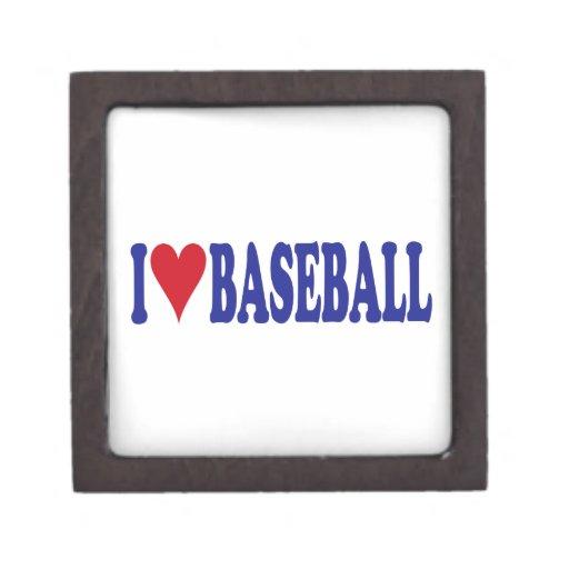 Amo béisbol cajas de joyas de calidad