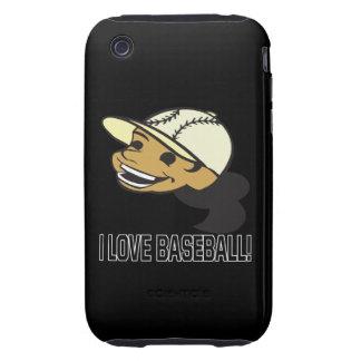 Amo béisbol carcasa though para iPhone 3