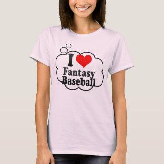 Amo béisbol de la fantasía playera