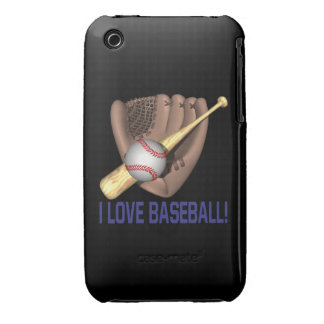 Amo béisbol iPhone 3 cárcasa