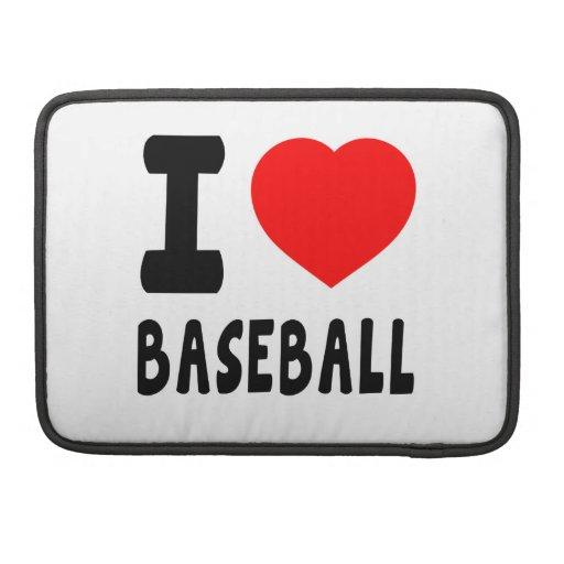 Amo béisbol fundas macbook pro