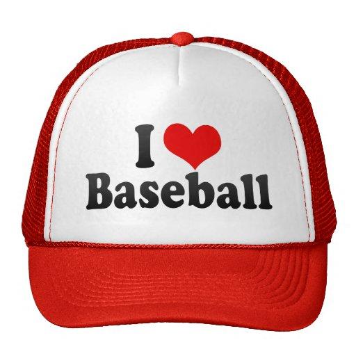 Amo béisbol gorras de camionero