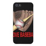 Amo béisbol iPhone 5 cárcasas
