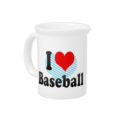 Amo béisbol jarras de beber