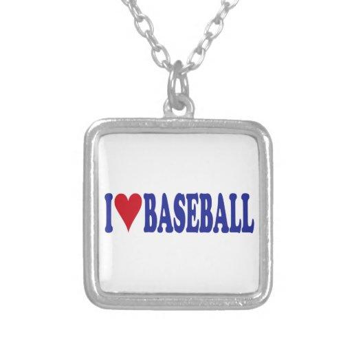 Amo béisbol pendiente personalizado