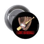 Amo béisbol pins