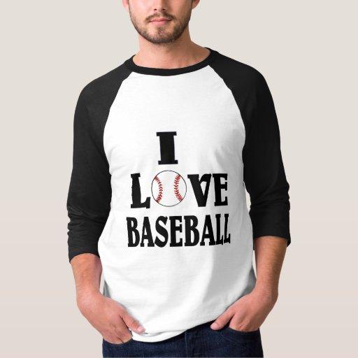 Amo béisbol poleras