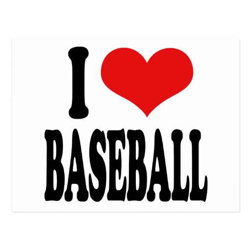 Amo béisbol postales