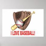 Amo béisbol poster