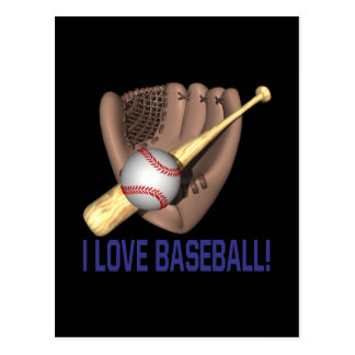 Amo béisbol postal