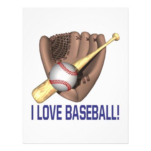Amo béisbol tarjetones