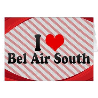 Amo Bel Air al sur, Estados Unidos Tarjetas