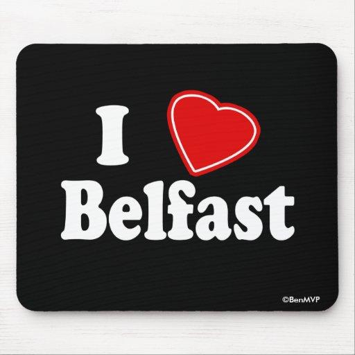 Amo Belfast Tapetes De Raton