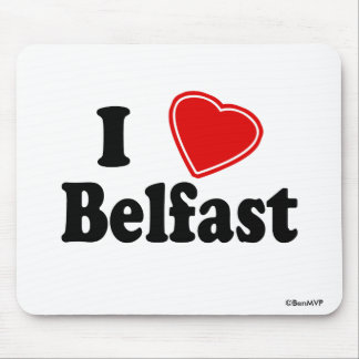 Amo Belfast Tapetes De Ratón