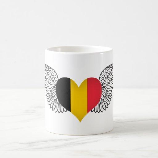 Amo Bélgica - alas Tazas De Café