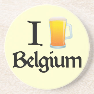 Amo Bélgica Posavasos Para Bebidas