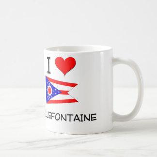 Amo Bellefontaine Ohio Tazas De Café