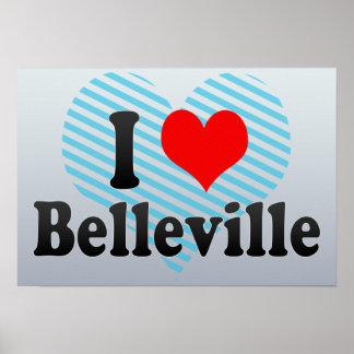 Amo Belleville Canadá Posters