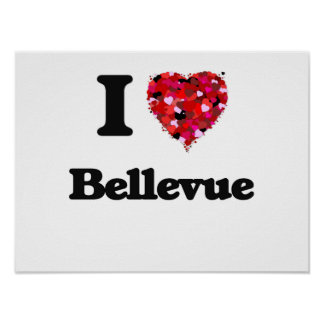 Amo Bellevue Washington Póster