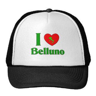Amo Belluno Italia Gorro De Camionero